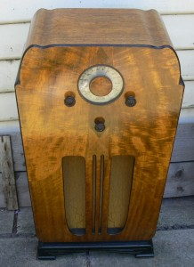 Astor Art Deco Radio Console