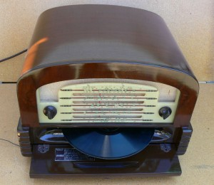 Astor Radiogram Desk Top Unit