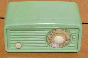 Green Astor 1950's Radio