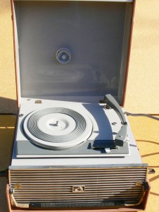 HMV Portable Record Player