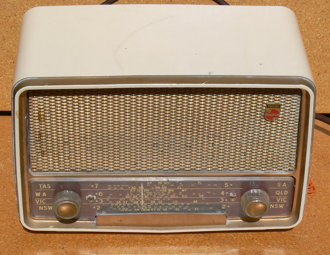 Radio 1950 Philips Philips 1950's Radio