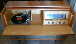 Philips 1950's radiogram